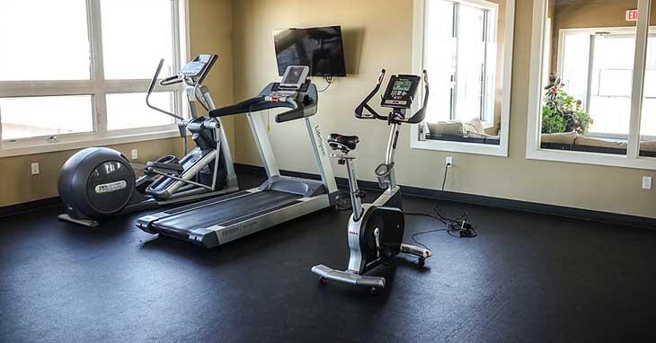 Clean an Area Under Treadmill