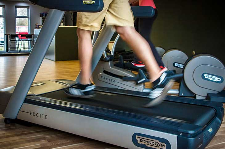 Put Treadmill on an Even Surface