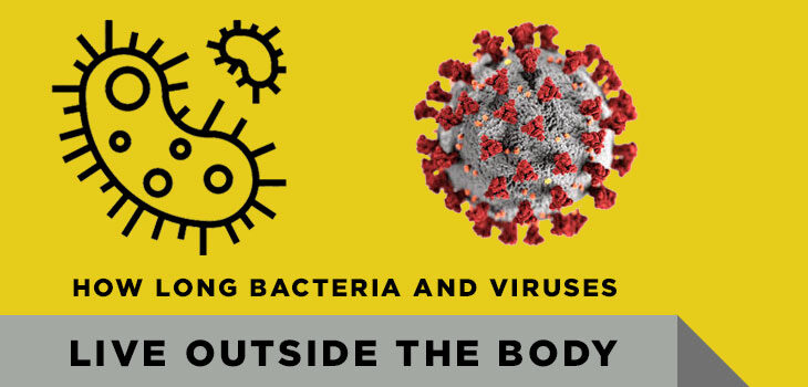 How Long do Bacteria and Viruses Live Outside the Body