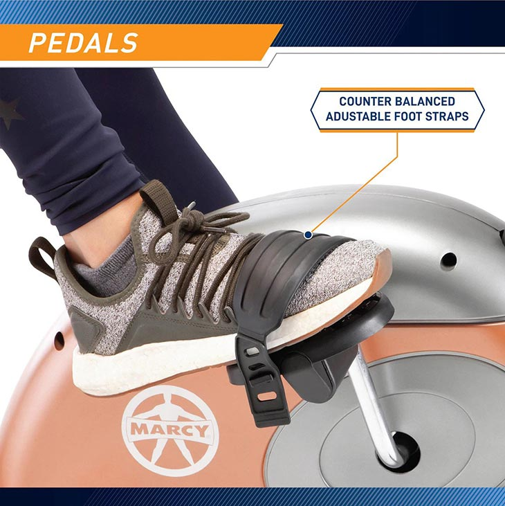 Comfortable Pedals