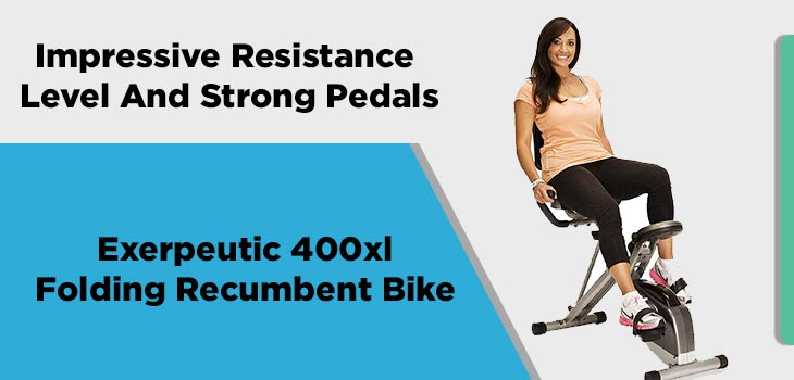 Impressive Resistance Level And Strong Pedals