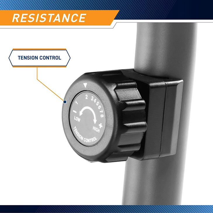 Magnetic Resistance Eight Levels